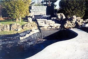 Гидроизоляция искусственных водоемов